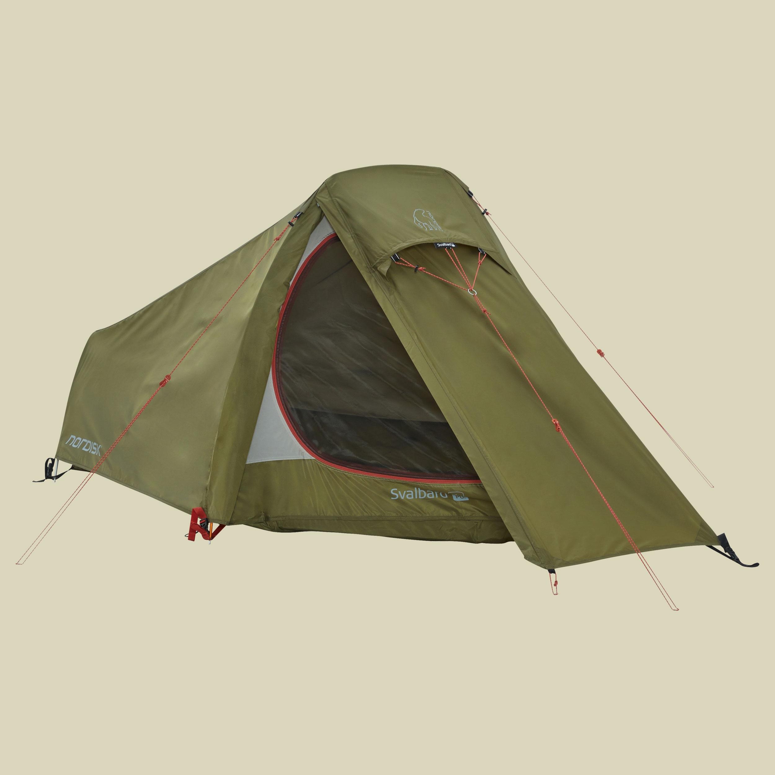 Image of nordisk Svalbard 1 PU Tent 1-Personen Zelt 1-Personen Zelt dark olive