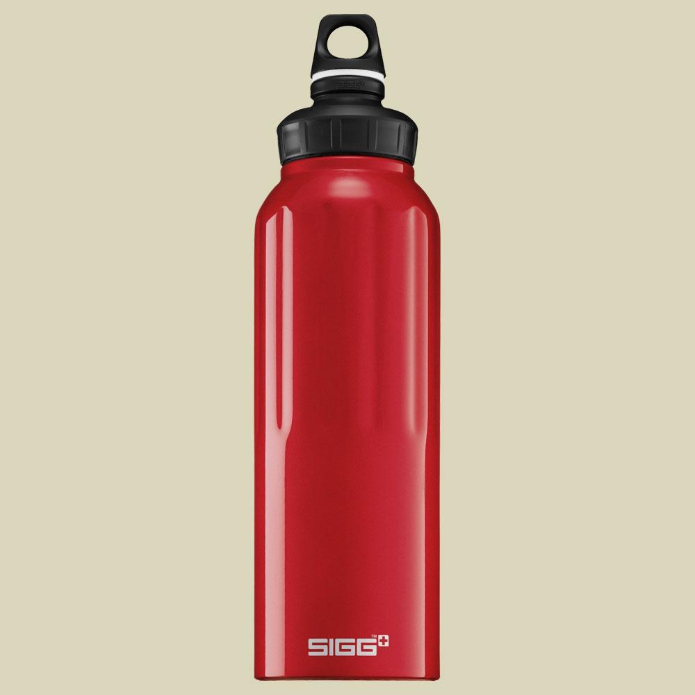 Sigg, Wide Mouth Traveller, Volumen 1.5L, Trinkflasche, dark red