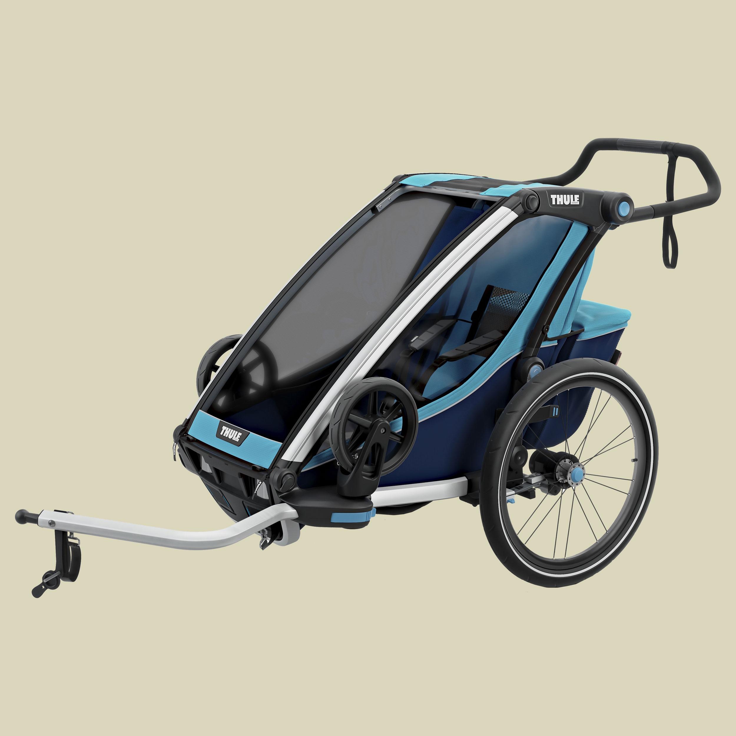 Thule, Chariot Cross 1, thule blue/poseidon, Kindertransporter,