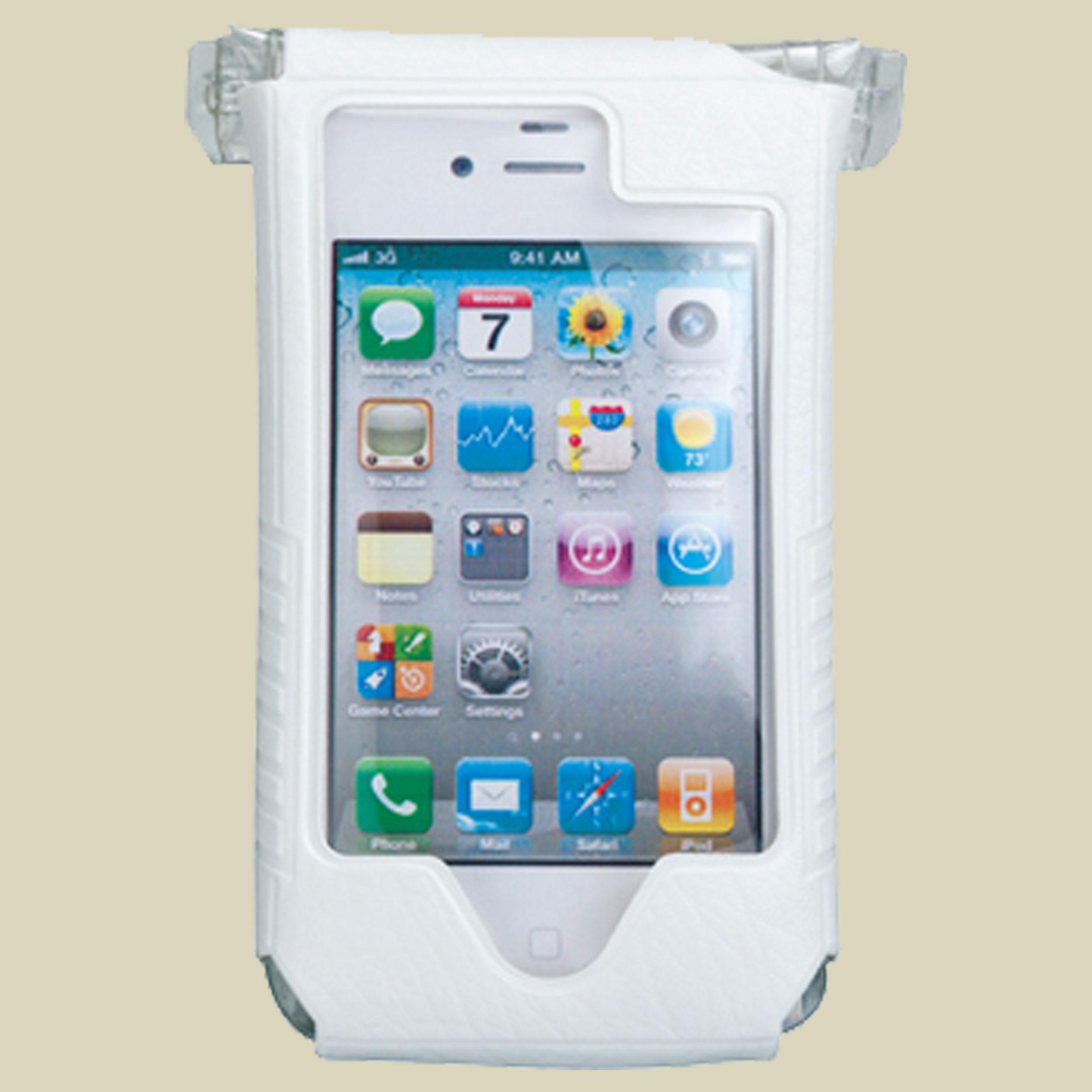 Topeak, SmartPhone DryBag, für iPhone 4/4s, Smartphone-Tasche für Fahrradlenker, weiß