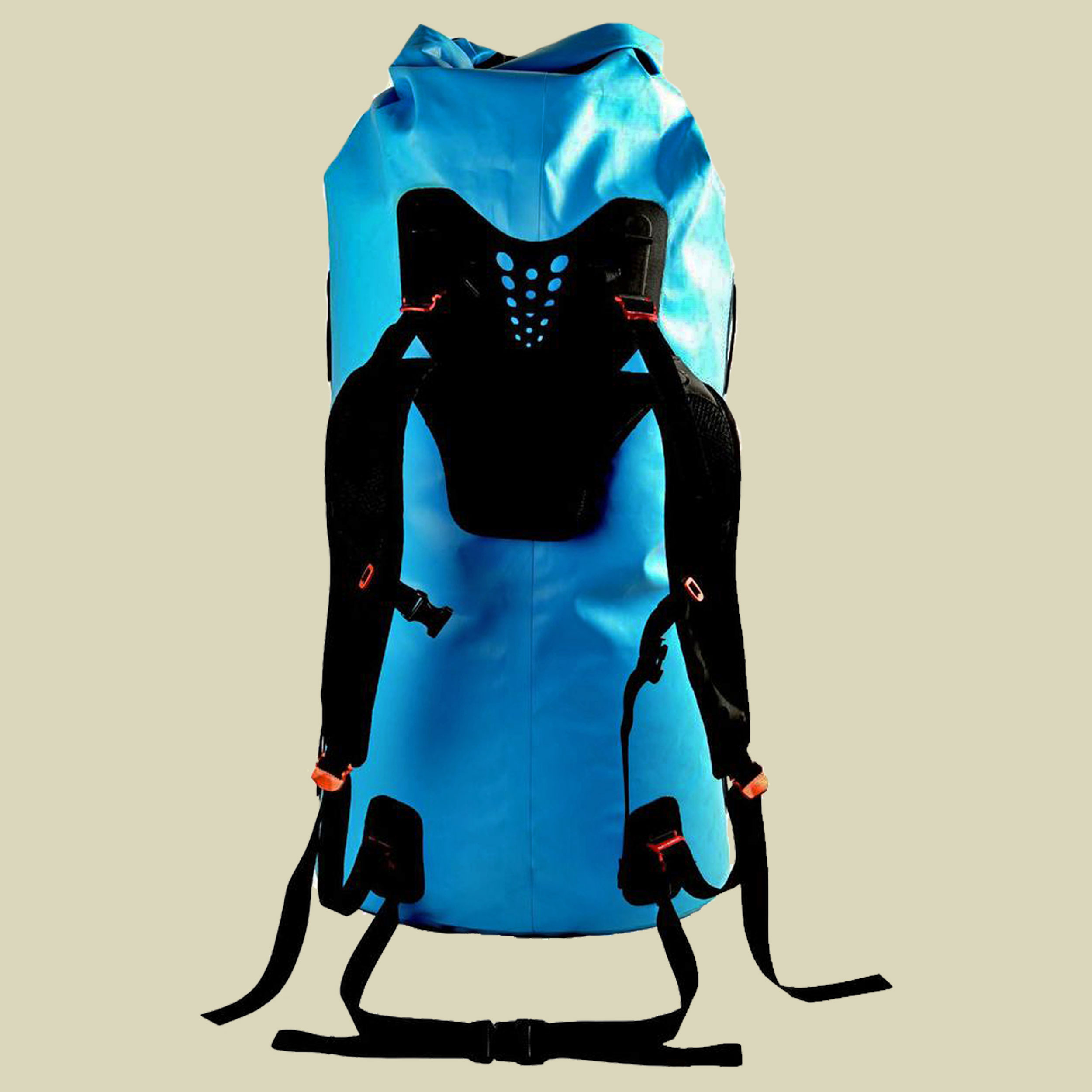 Image of Sea to Summit Hydraulic Dry Pack Packsack mit Tragesystem Volumen 90 blue