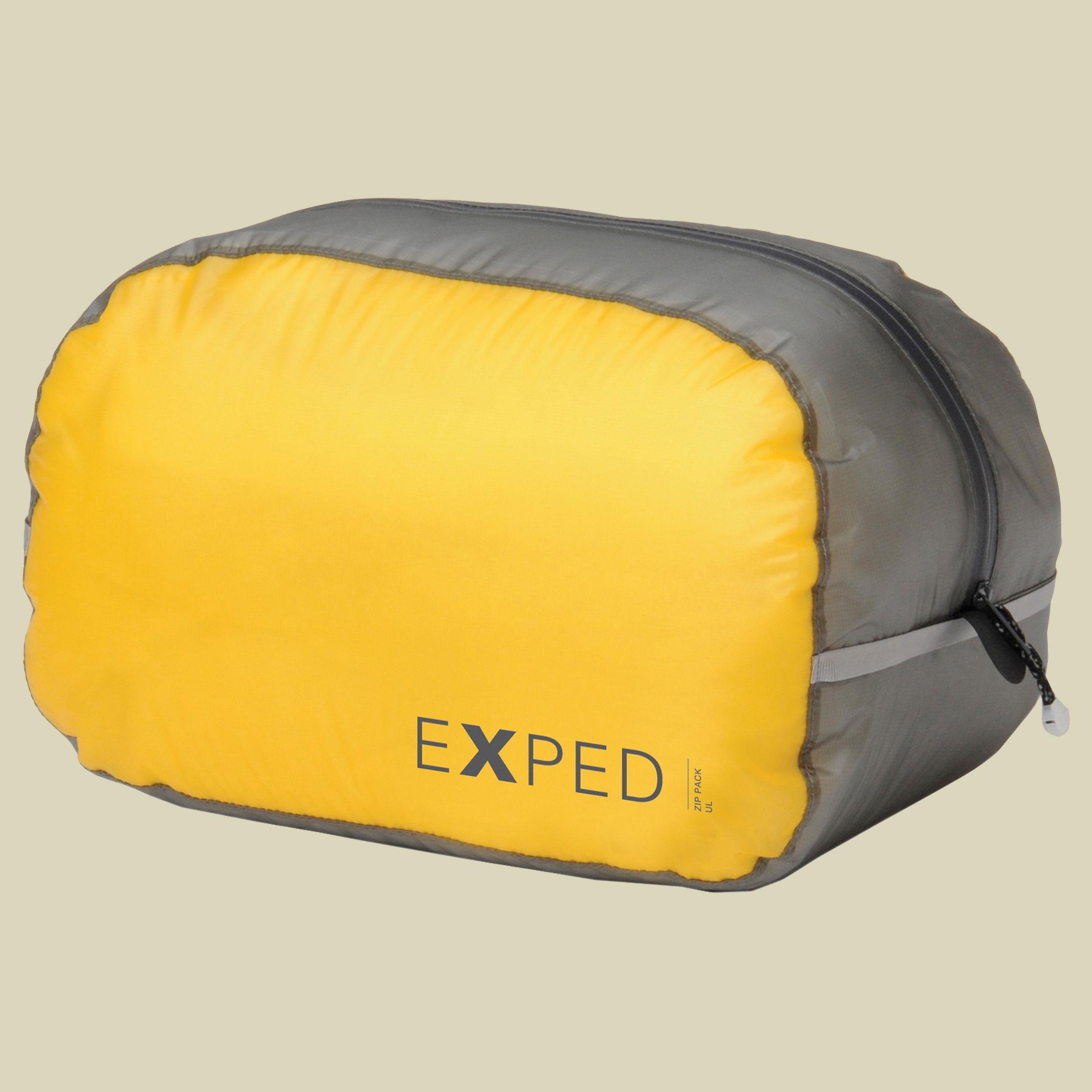 Image of Exped Zip Pack UL-L Reisepacksack Größe 30 x 18 x 16 cm yellow