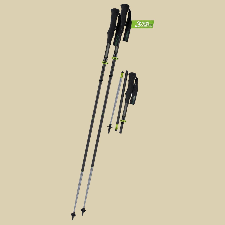 Komperdell, C4 Trailstick Vario Rocksleeve, Länge 115-135 cm, Trekkingwanderstock