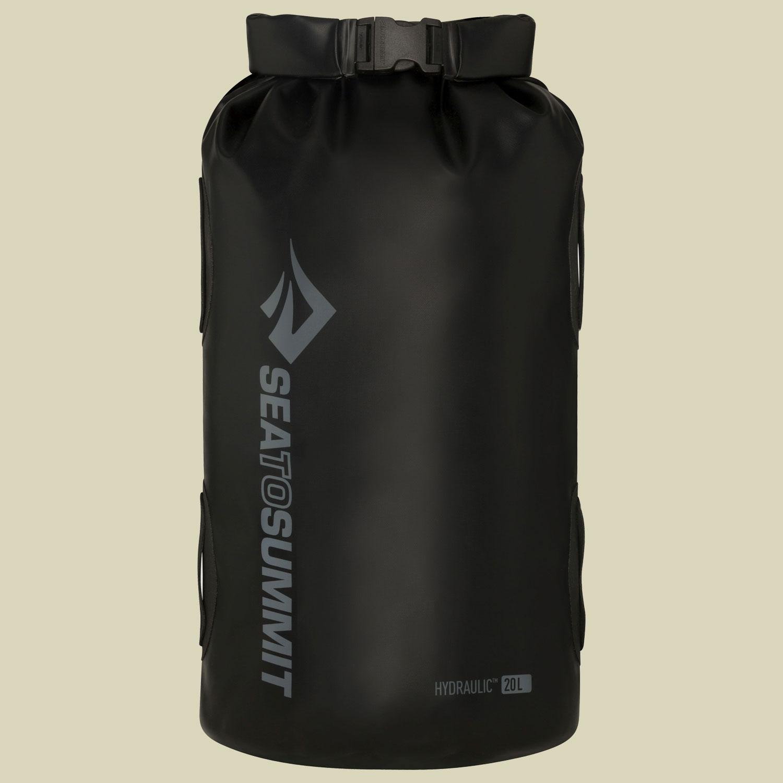 Image of Sea to Summit Hydraulic Dry Bag Packsack wasserdicht Volumen 20 black