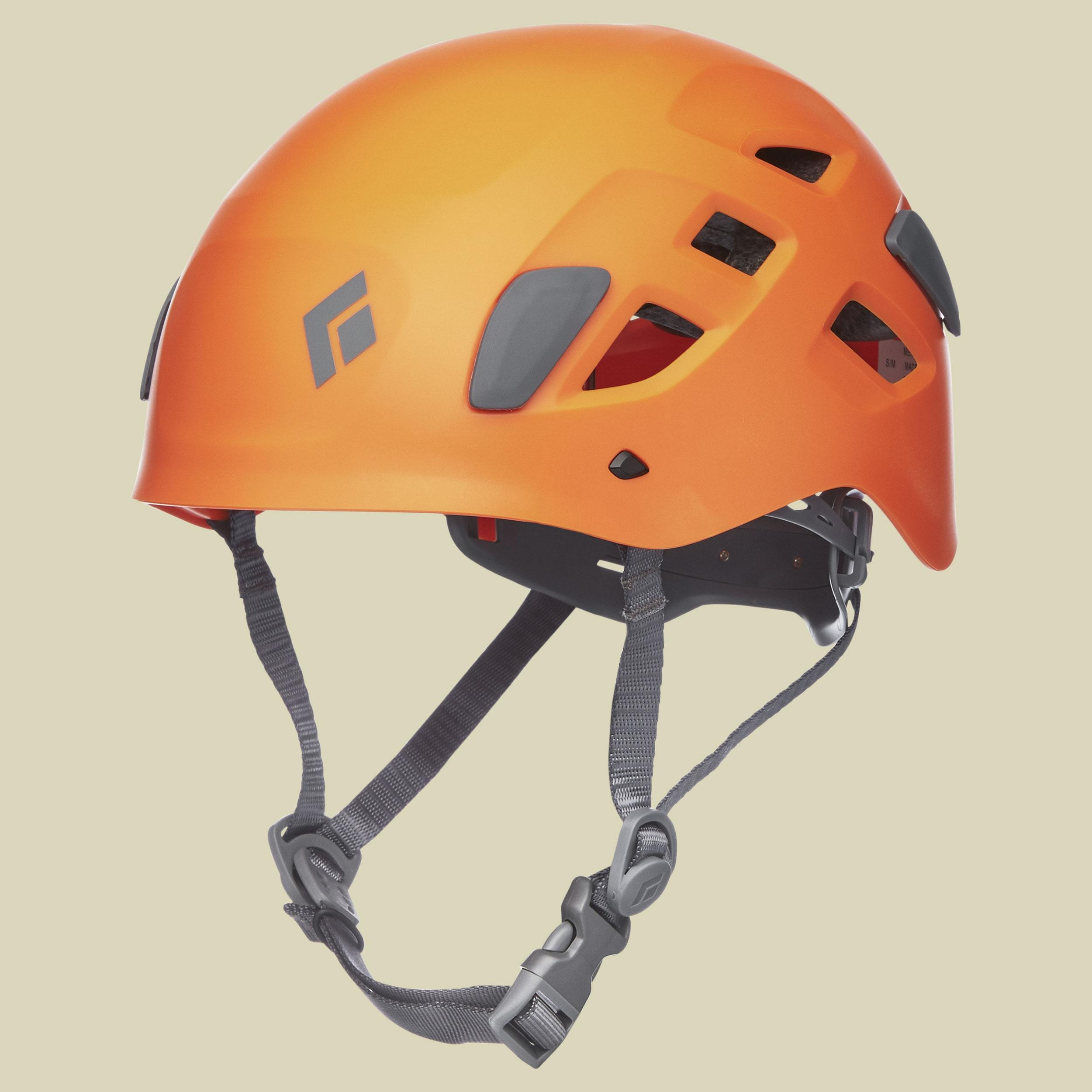 Image of Black Diamond Half Dome Helmet Kletterhelm Gr M/L orange/grau