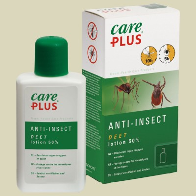 Tropicare Care Plus Anti-Insect Deet 50% Lotion 50 ml