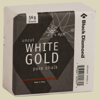 Black Diamond Solid White Gold-Block / 550499