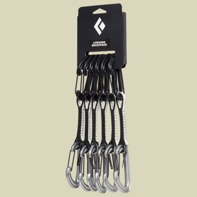Black Diamond LiteWire Quickpack 12 cm 6er Pack