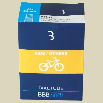 BBB Cycling BTI-11 BikeTube 16 AV