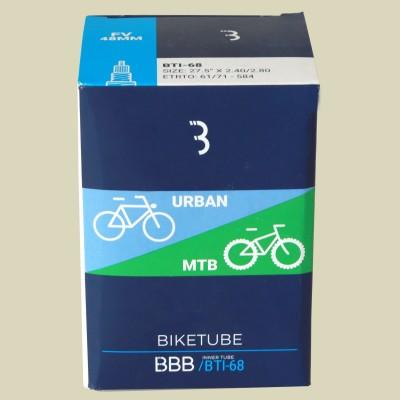 BBB Cycling BTI-68 BikeTube 27,5  FV