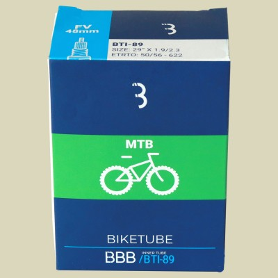 BBB Cycling BTI-89 BikeTube 29 FV48