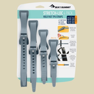 Sea to Summit Stretch-Loc Set - All Sizes 20mm 4 Pack