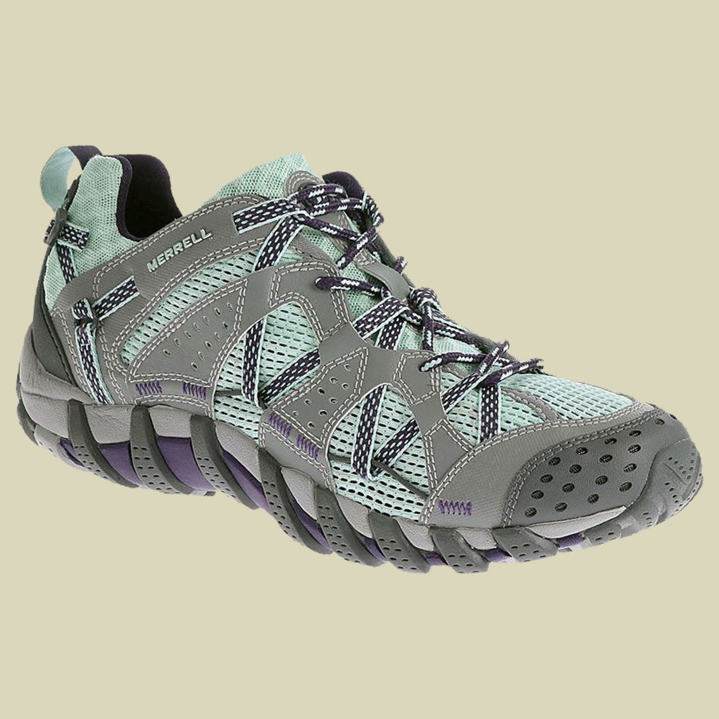 Merrell Waterpro Maipo Damen Waterproof Walking Schuhe Blau