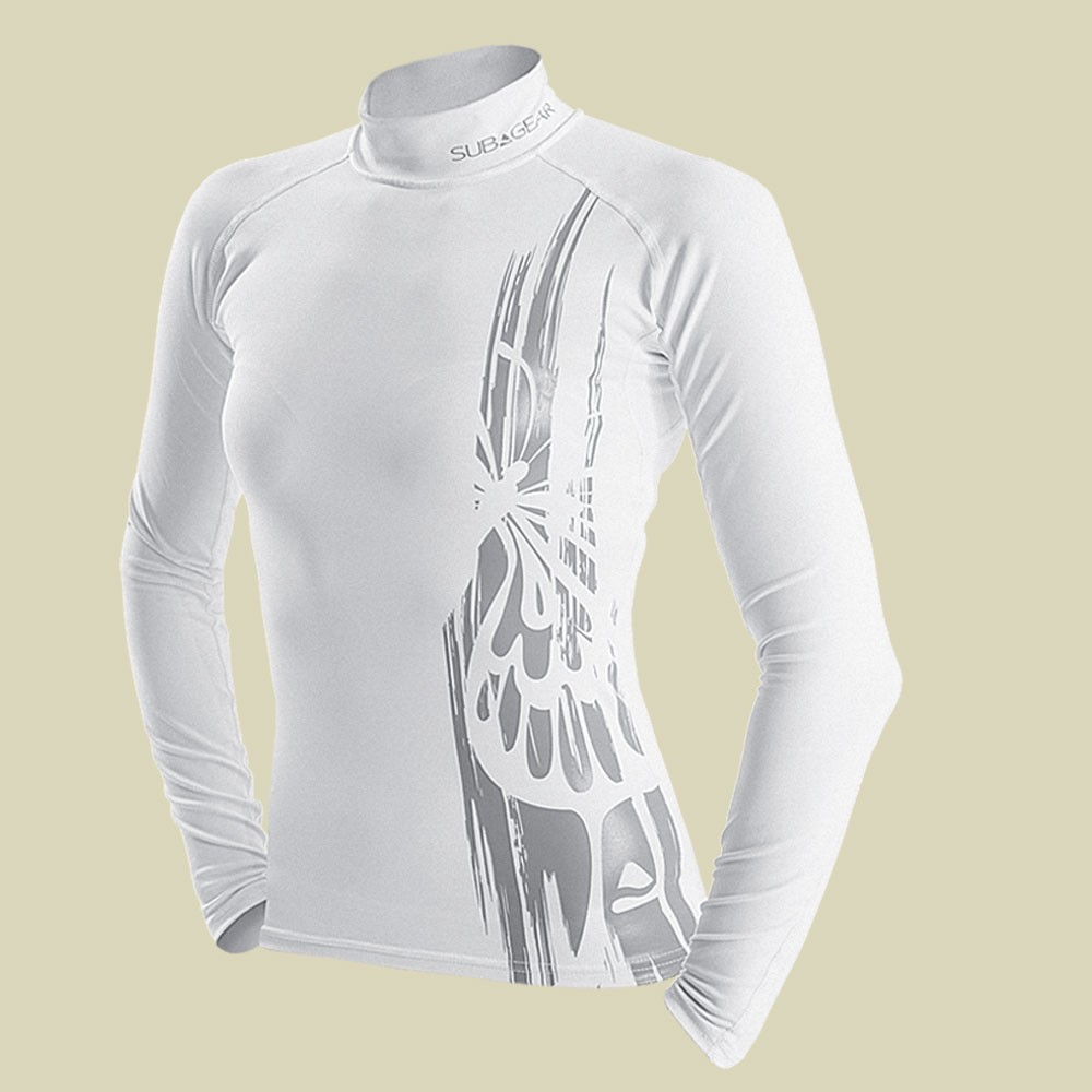 Rash Guard White Ocean