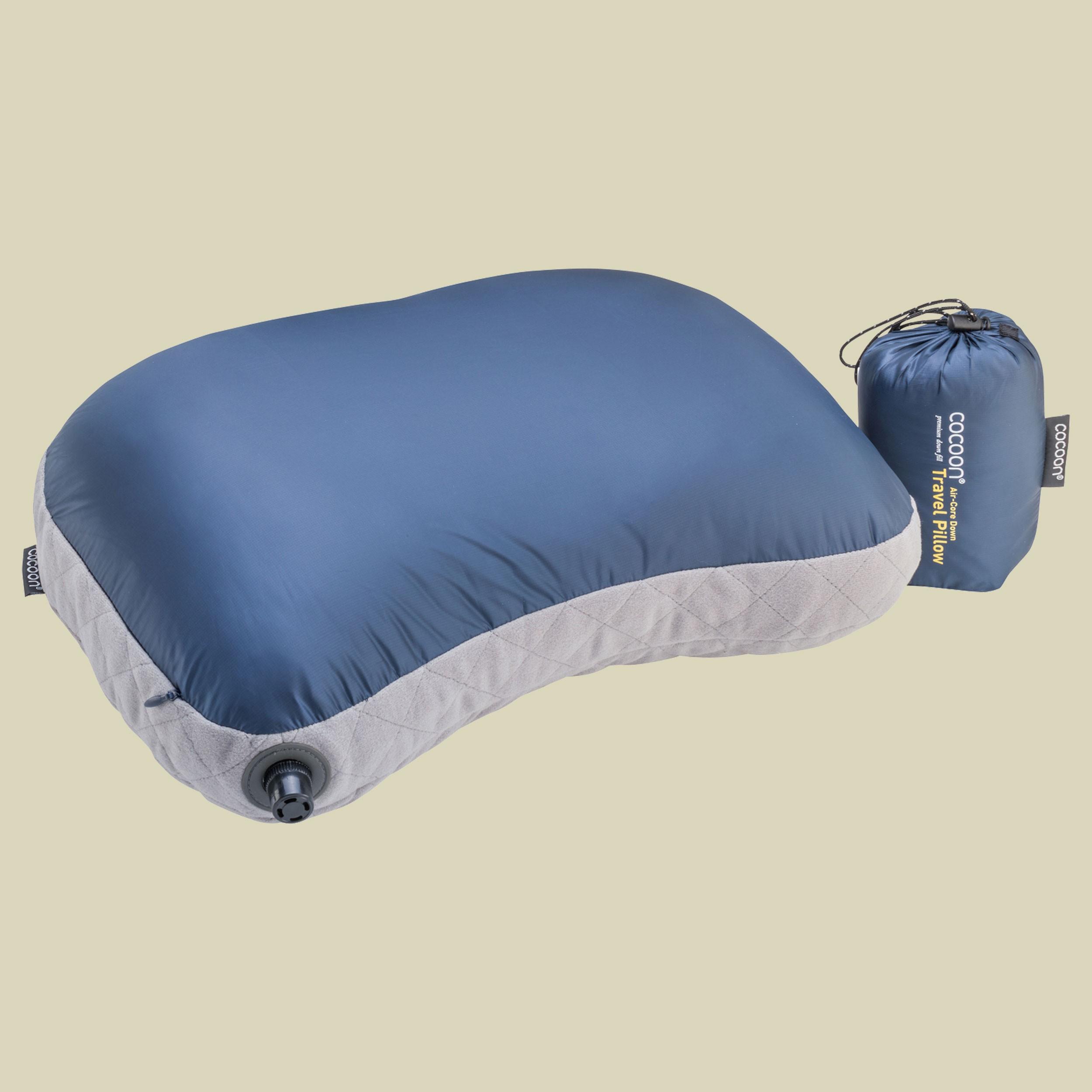 Air-Core Down Travel Pillow