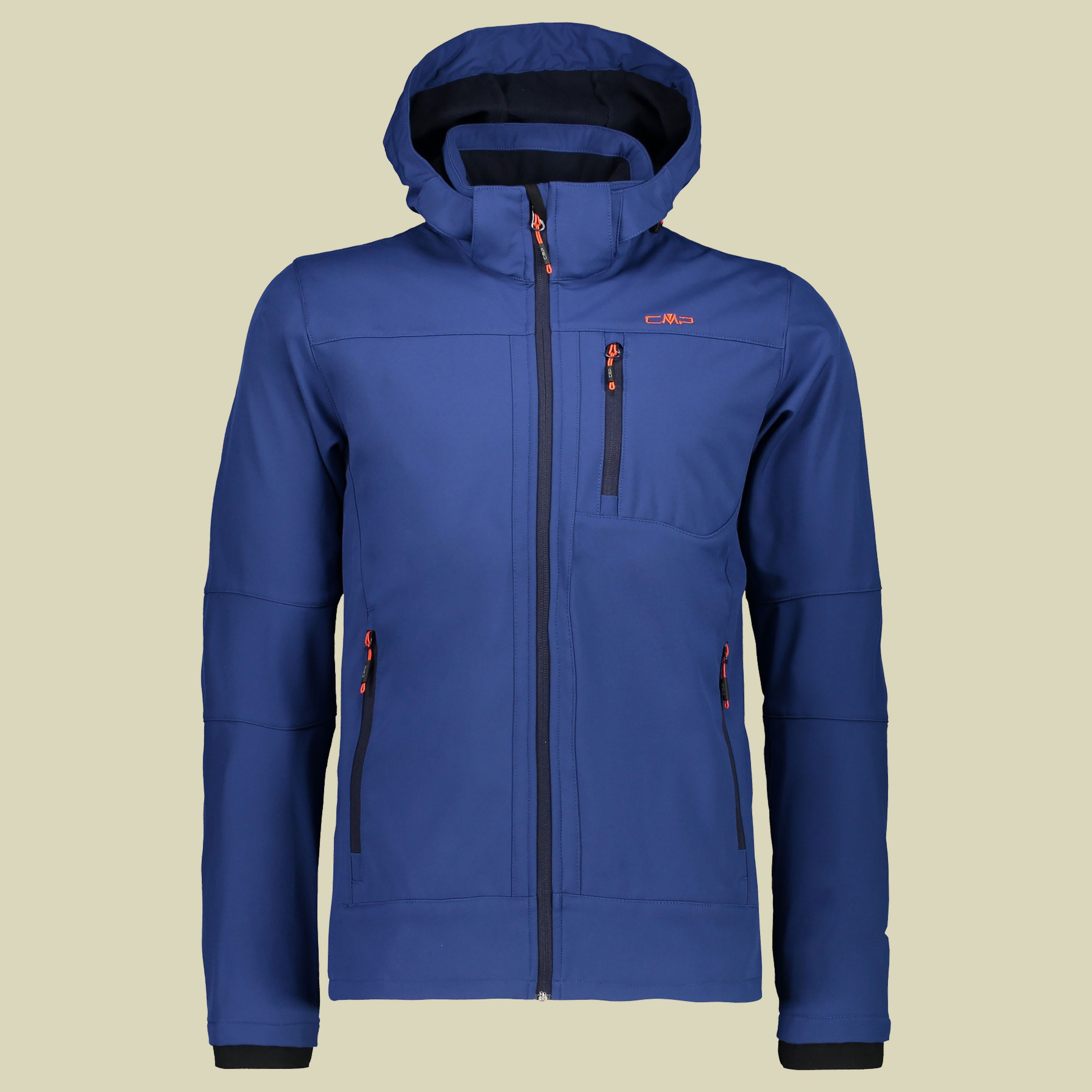 Man Softshell Jacket Zip Hood CMP 3A01787N