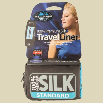 Sea to Summit Silk Liner Stretch - Traveller (with Pillow slip)