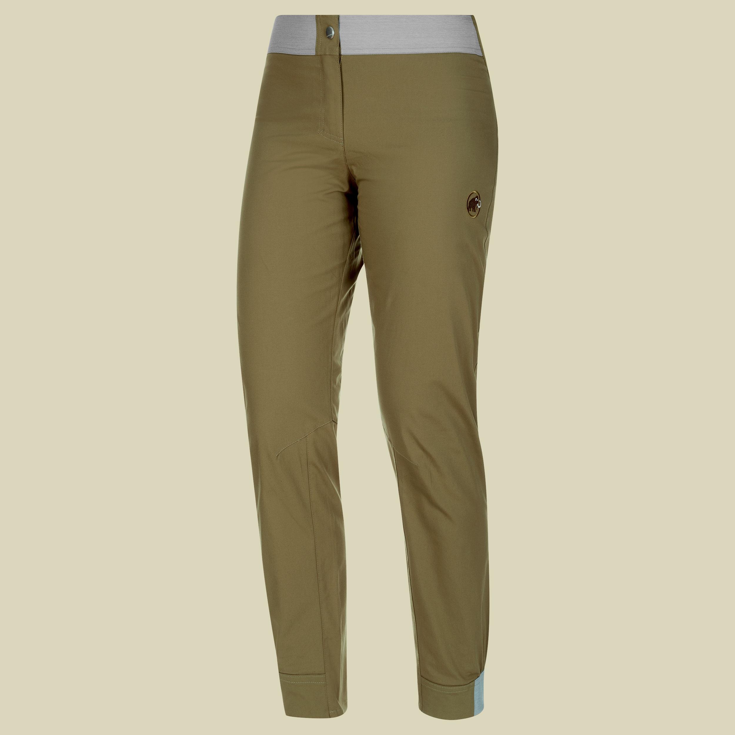 Image of Mammut Alnasca Pants Women Damen Kletterhose Größe 42 olive